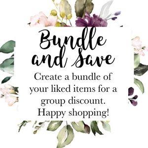 Bundle and Save 🌺